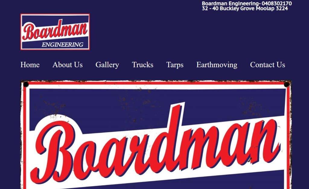 Boardman Engineering Geelong