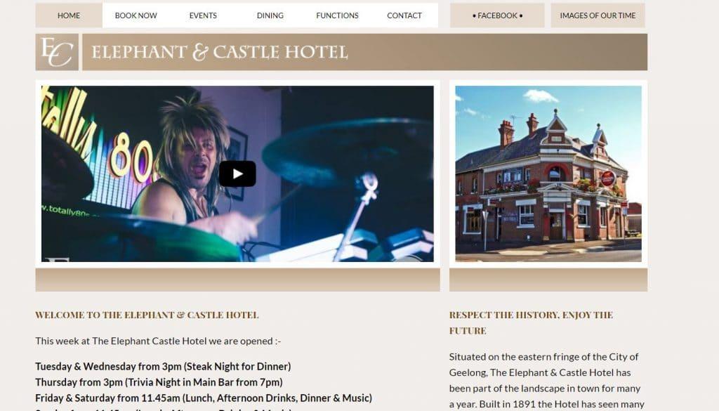 Elephant & Castle Hotel Geelong