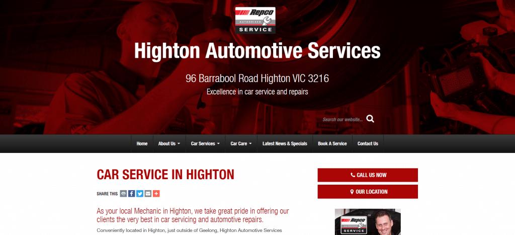 Highton Automotive Services Geelong