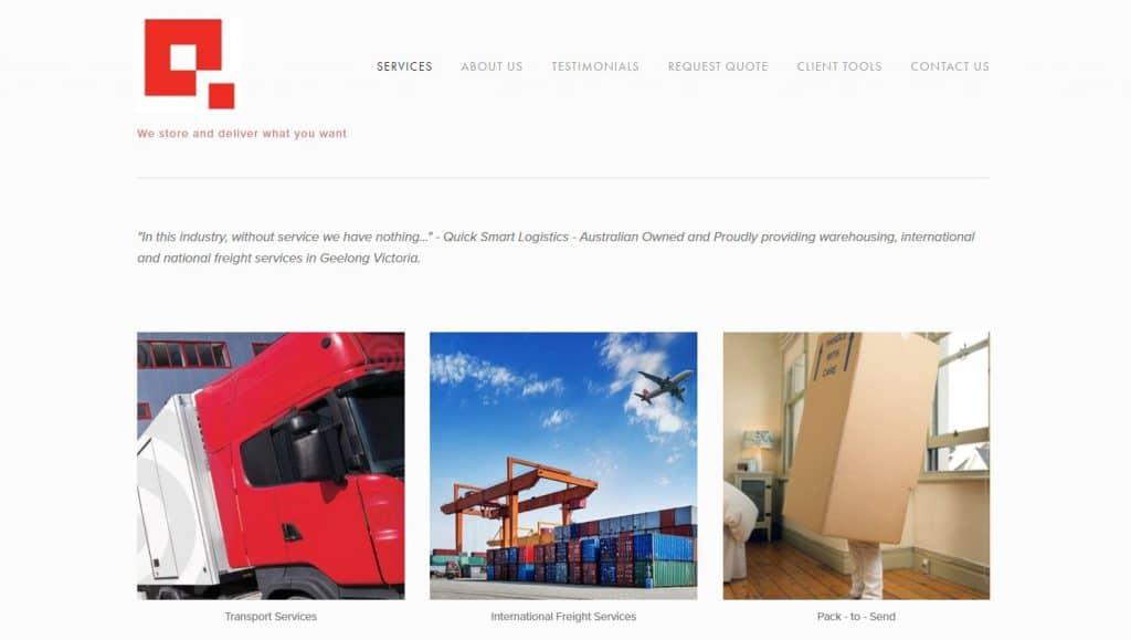 Quick Smart Logistics Geelong