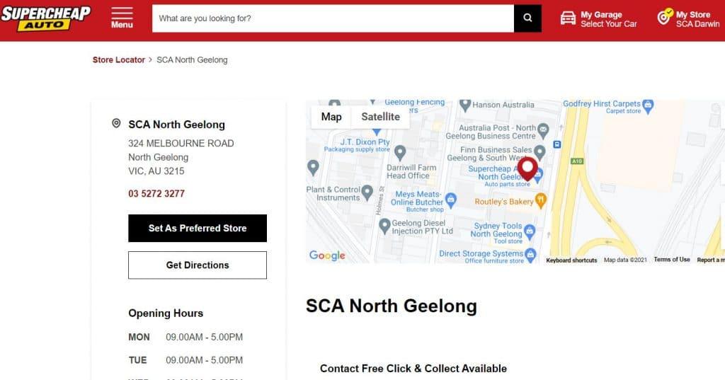 Supercheap Auto North Geelong