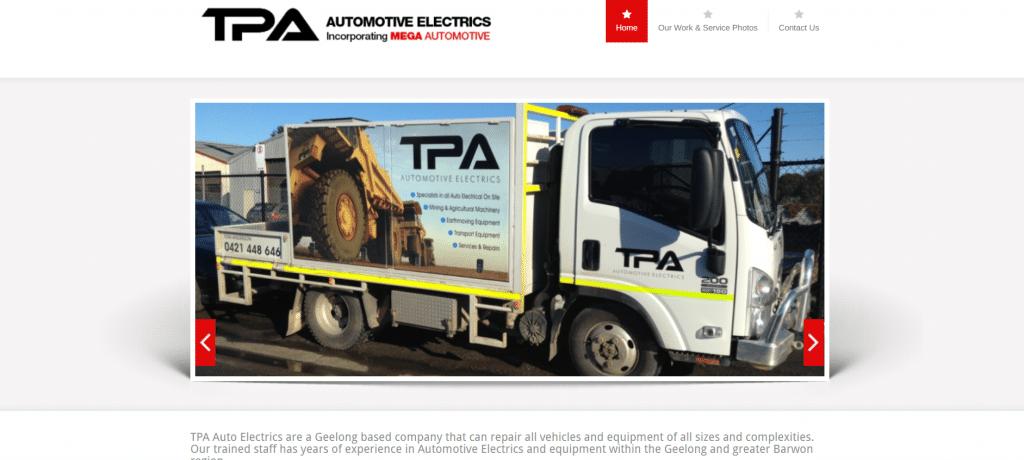 TPA Automotive Electrics Geelong
