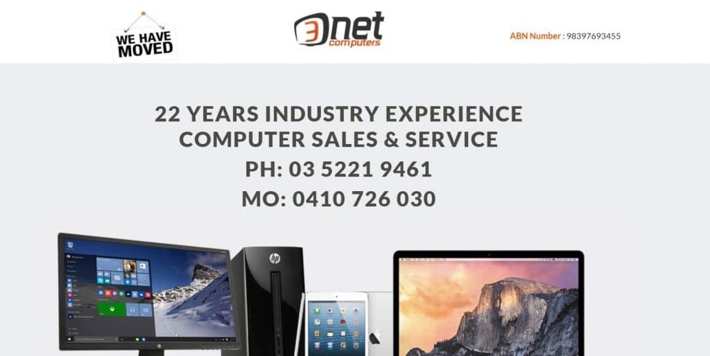 3-Net Computer Store Geelong