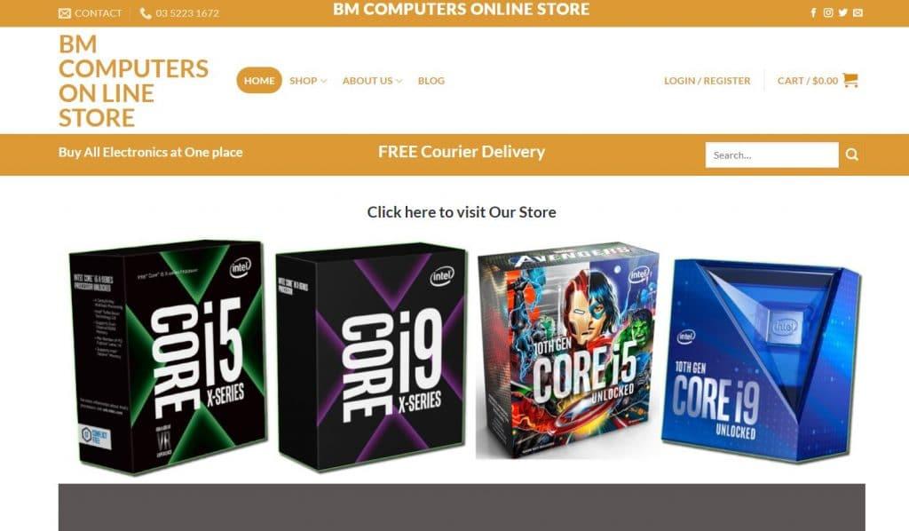 B M Computers Geelong