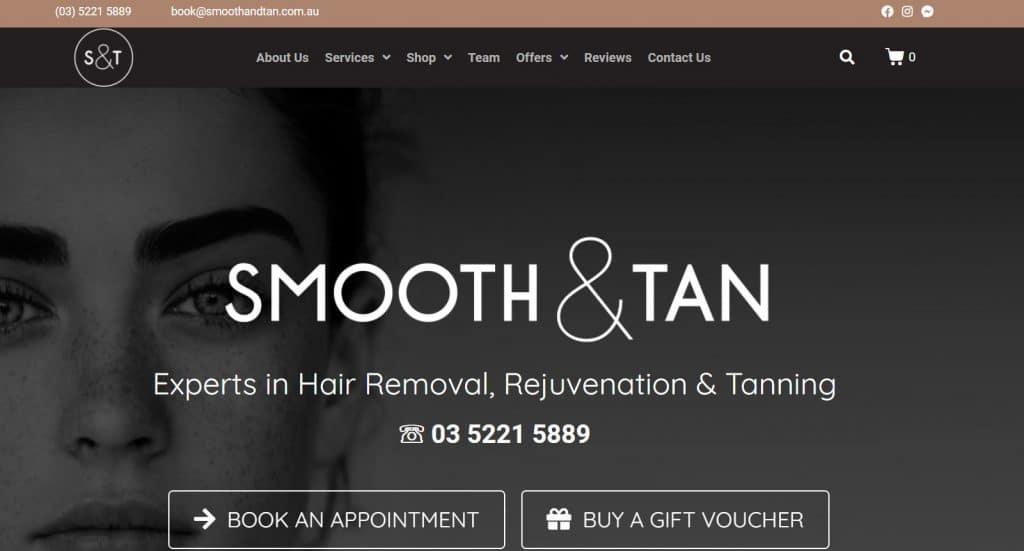 Smooth & Tan Beauty Salon Geelong