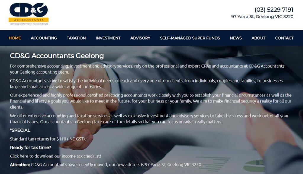 CD&G Accountants Geelong